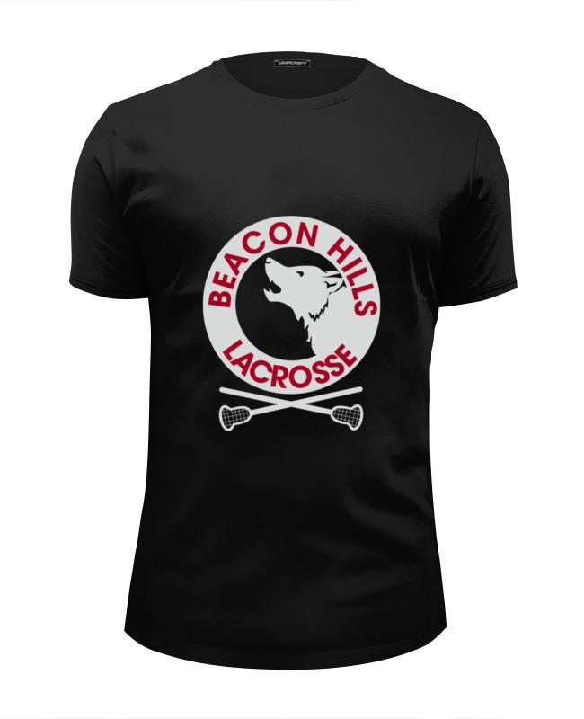Футболка Wearcraft Premium Slim Fit Printio Teen wolf - beacon hills футболка wearcraft premium printio wolf teen