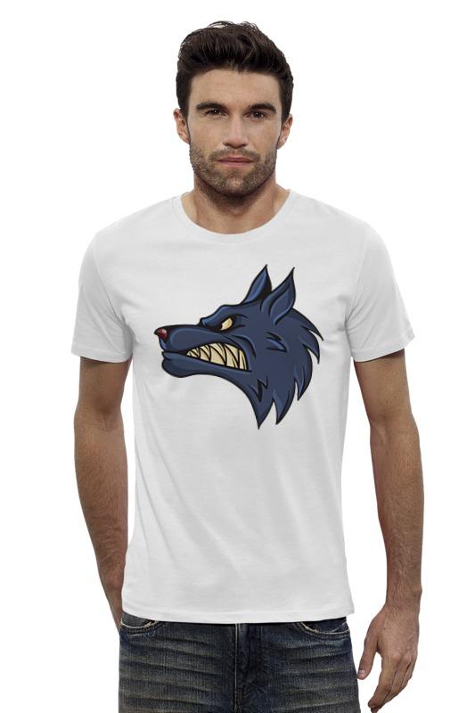 Футболка Wearcraft Premium Slim Fit Printio Angry wolf