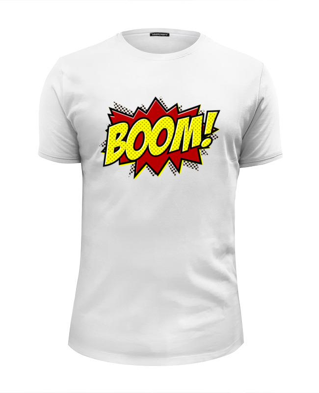 Футболка Wearcraft Premium Slim Fit Printio Boom! футболка wearcraft premium slim fit printio applejack exclusive