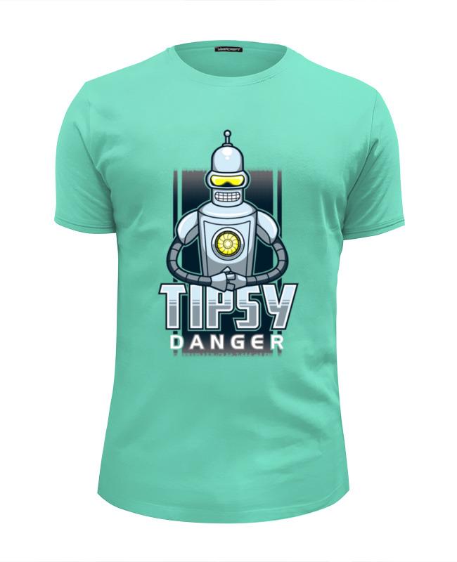 Футболка Wearcraft Premium Slim Fit Printio Tipsy danger футболка print bar danger toxic