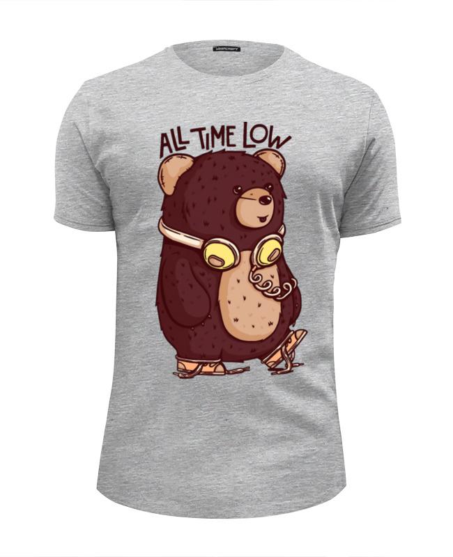 Футболка Wearcraft Premium Slim Fit Printio Animal art футболка стрэйч printio animal art