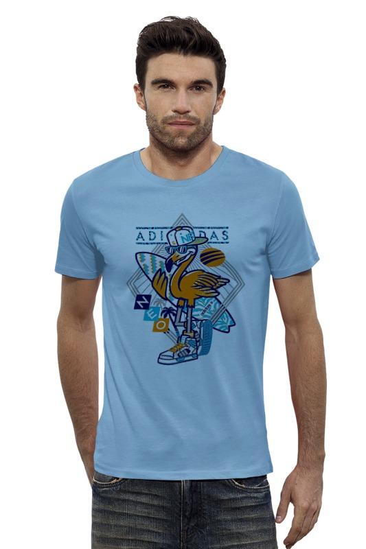 Футболка Wearcraft Premium Slim Fit Printio Пеликан футболка wearcraft premium slim fit printio голубой морской кит кашалот