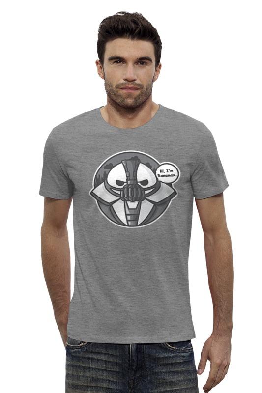 Футболка Wearcraft Premium Slim Fit Printio Bane x baymax (banemax) футболка wearcraft premium slim fit printio space jam x jordan