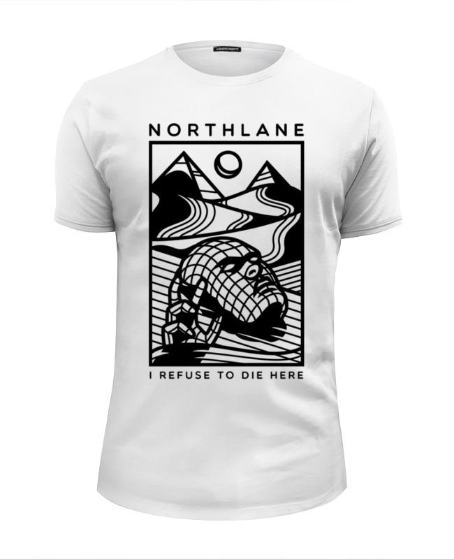 Футболка Wearcraft Premium Slim Fit Printio Northlane футболка wearcraft premium slim fit printio northlane