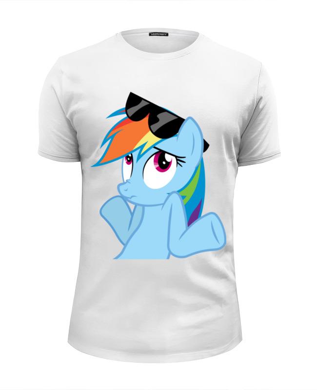 Футболка Wearcraft Premium Slim Fit Printio Rainbow dash футболка wearcraft premium slim fit printio rainbow dash loyalty