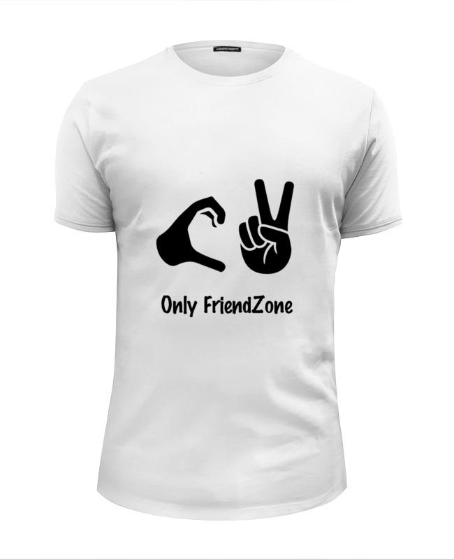 Фото - Футболка Wearcraft Premium Slim Fit Printio Френдзона футболка wearcraft premium slim fit printio символ robocomics