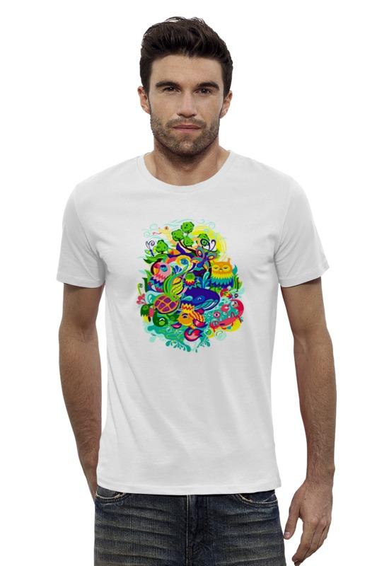 Футболка Wearcraft Premium Slim Fit Printio Абстракция футболка wearcraft premium slim fit printio vampire