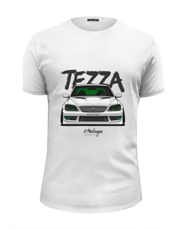 Футболка Wearcraft Premium Slim Fit Printio Toyota altezza (lexus is)