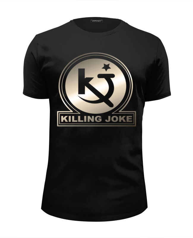 Футболка Wearcraft Premium Slim Fit Printio Killing joke killing floor 2 ps4