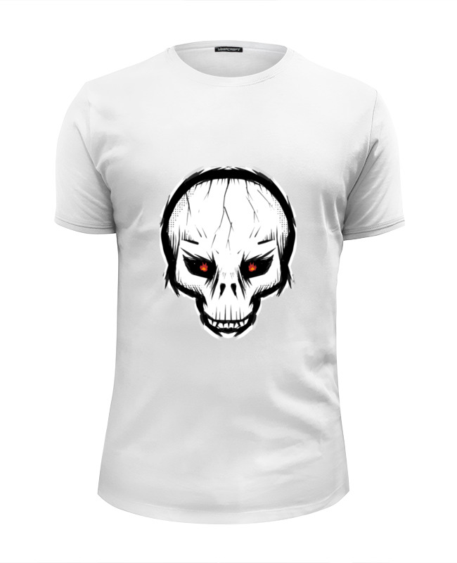 Printio Череп футболка wearcraft premium slim fit printio вдв