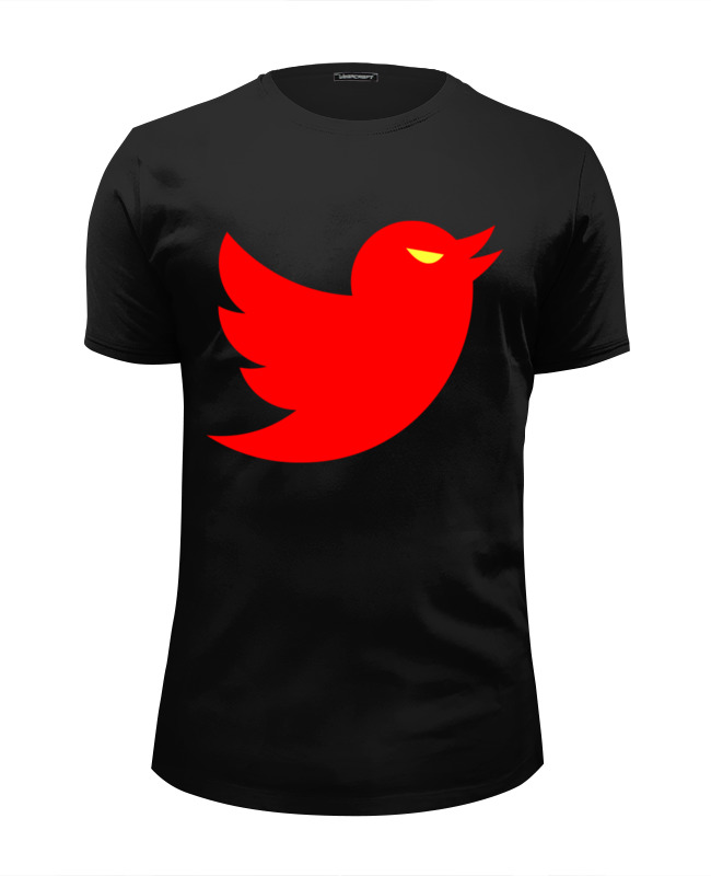 Футболка Wearcraft Premium Slim Fit Printio Angry bird (twitter) футболка wearcraft premium slim fit printio bird