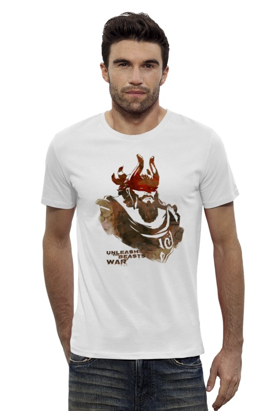 Футболка Wearcraft Premium Slim Fit Printio Dota 2 beastmaster (with text) футболка wearcraft premium slim fit printio dota 2 beastmaster with text