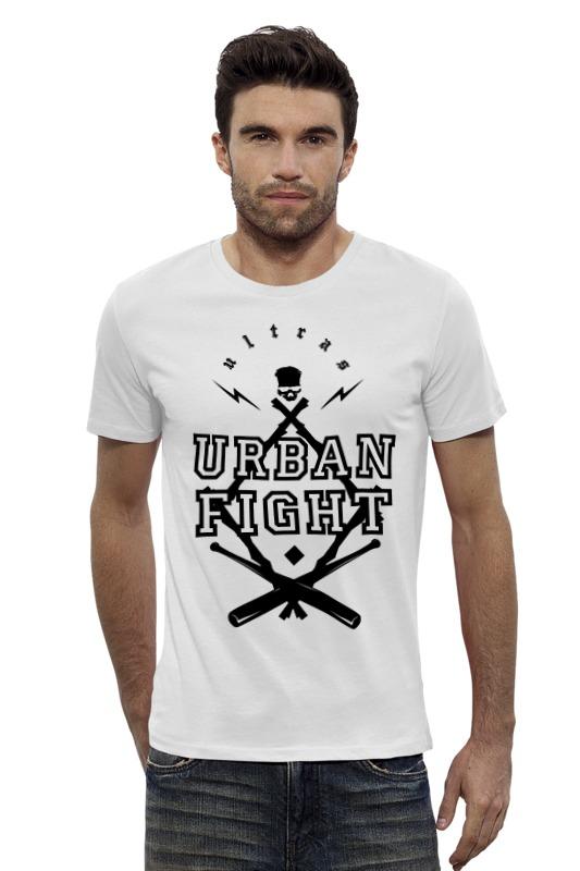 Футболка Wearcraft Premium Slim Fit Printio Urban fight футболка wearcraft premium printio urban environment arsb