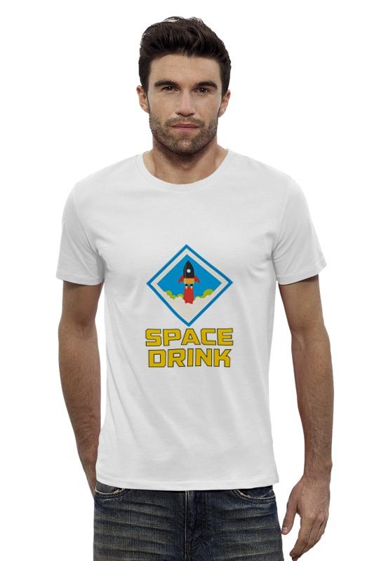 Футболка Wearcraft Premium Slim Fit Printio Space drink футболка wearcraft premium slim fit printio space jam x jordan
