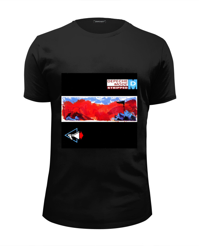 Футболка Wearcraft Premium Slim Fit Printio Depeche mode cd depeche mode black celebration remastered