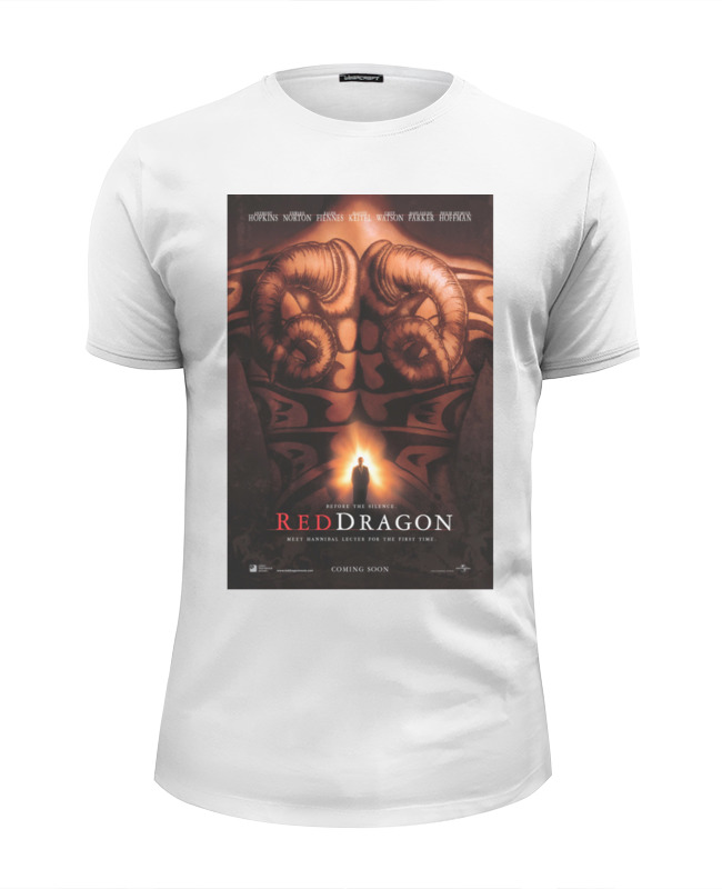 Printio Red-dragon / красный дракон цена