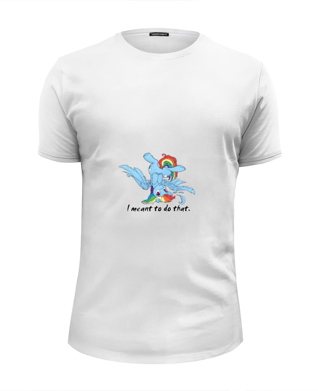 Футболка Wearcraft Premium Slim Fit Printio Мой маленький пони футболка print bar мой маленький мир