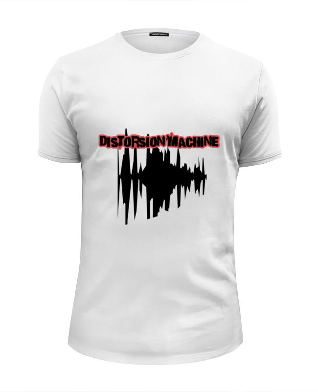Футболка Wearcraft Premium Slim Fit Printio North star shop - distorsion machine майка классическая printio distorsion machine