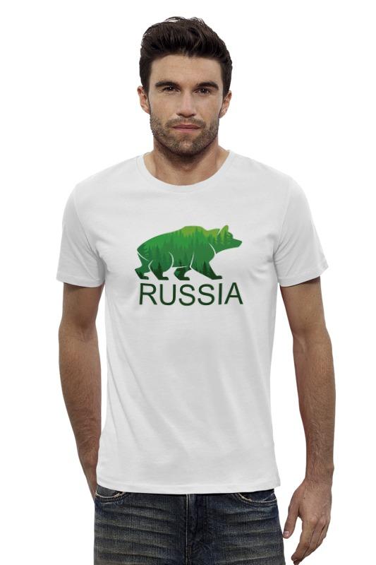 Футболка Wearcraft Premium Slim Fit Printio Россия, russia футболка wearcraft premium printio россия украина