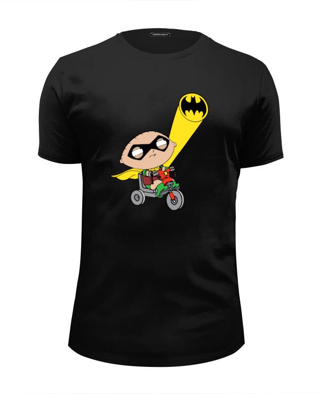 Футболка Wearcraft Premium Slim Fit Printio Бэтмен и робин (гриффины) футболка wearcraft premium slim fit printio гриффины