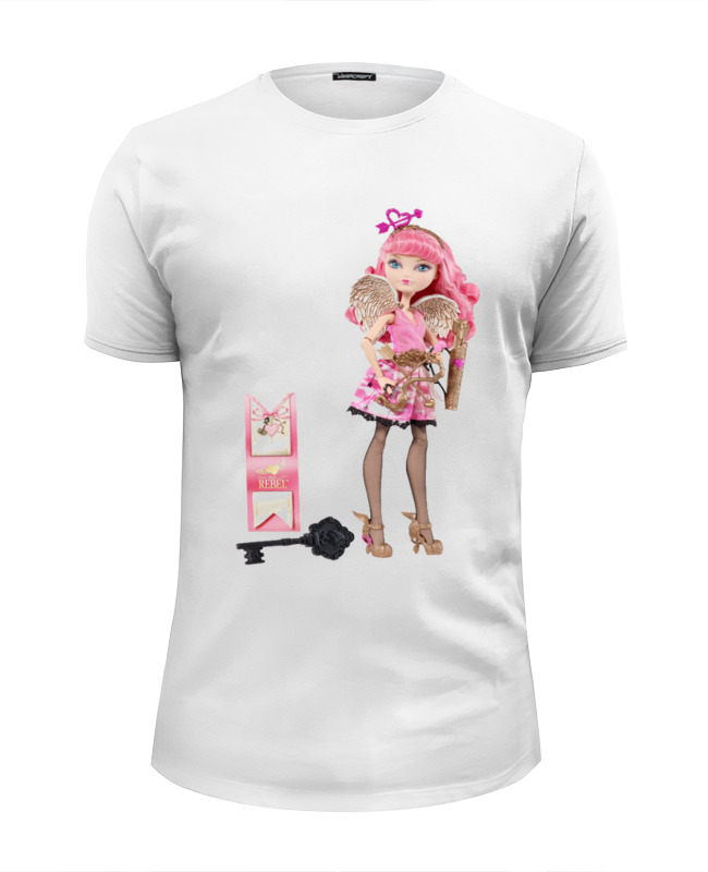Футболка Wearcraft Premium Slim Fit Printio Самая любимая кукла всех девочек -барби . kurhn кукла барби