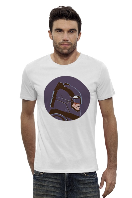 Футболка Wearcraft Premium Slim Fit Printio Бэтмен против супермена футболка классическая printio бэтмен против супермена