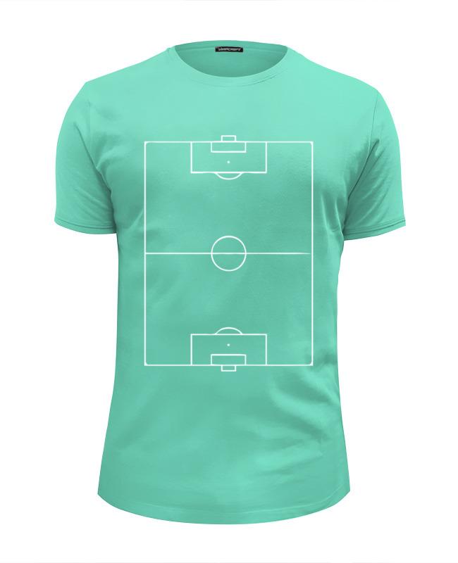 Футболка Wearcraft Premium Slim Fit Printio Футбольное поле (football)
