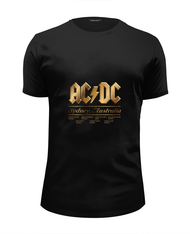 Футболка Wearcraft Premium Slim Fit Printio Ac/dc виниловая пластинка ac dc rock or bust