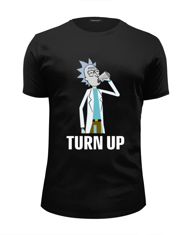 Футболка Wearcraft Premium Slim Fit Printio Рик и морти (rick and morty)