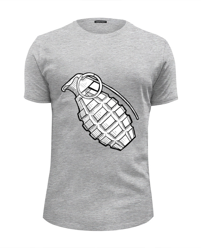 Футболка Wearcraft Premium Slim Fit Printio Grenade шапка grenade max slime
