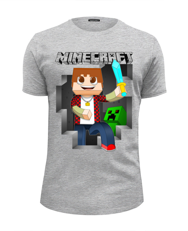 Printio Minecraft футболка wearcraft premium slim fit printio амелия понд