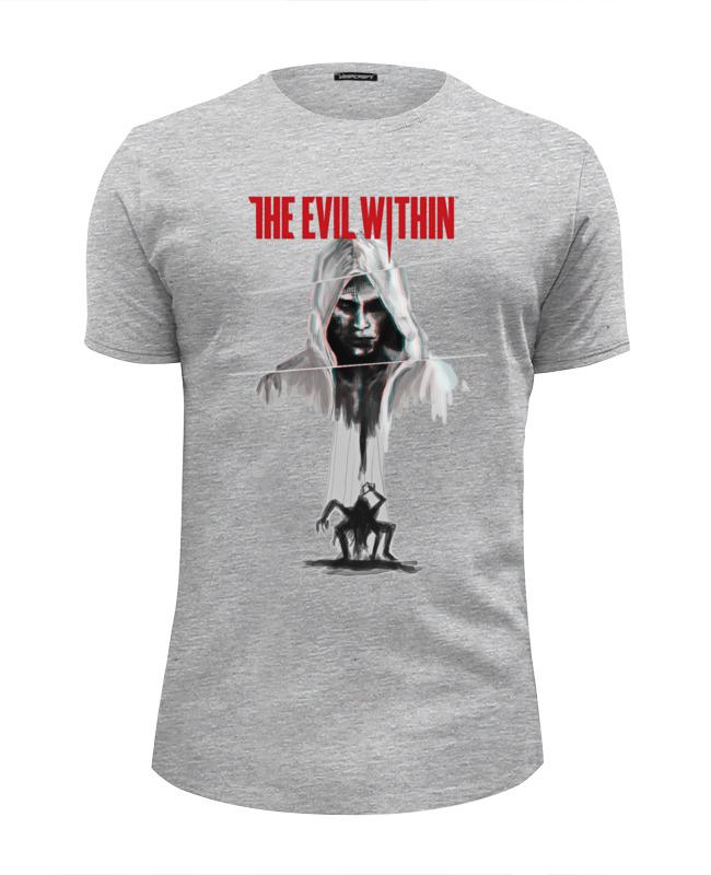 Футболка Wearcraft Premium Slim Fit Printio The evil within футболка wearcraft premium slim fit printio the monkees