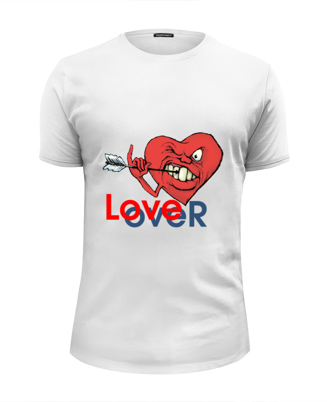 Фото - Футболка Wearcraft Premium Slim Fit Printio Любовь окончена футболка wearcraft premium slim fit printio любовь окончена