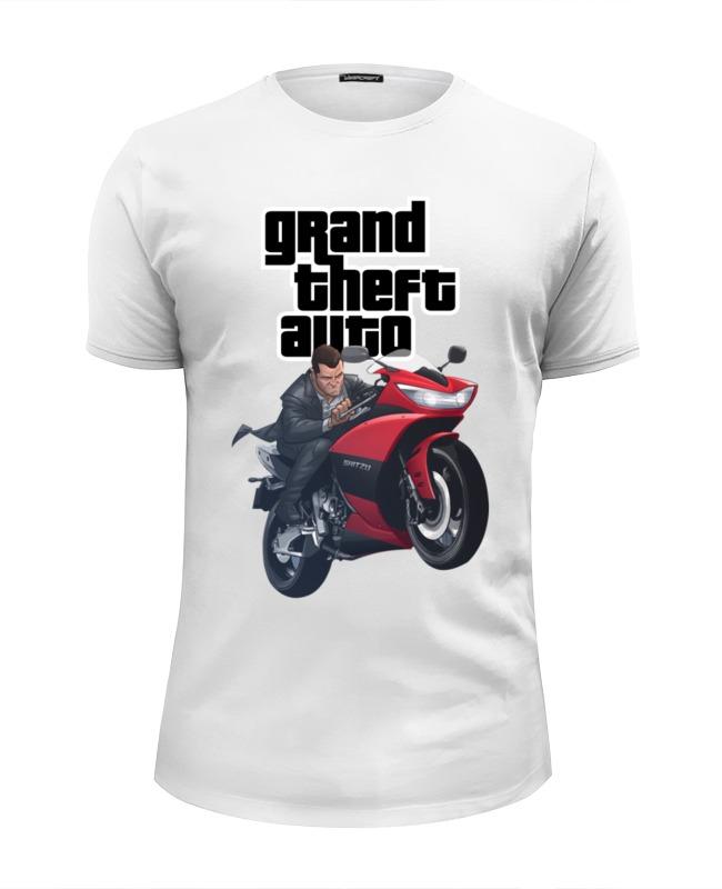 Футболка Wearcraft Premium Slim Fit Printio Gta. футболка wearcraft premium slim fit printio gta 5 футболка
