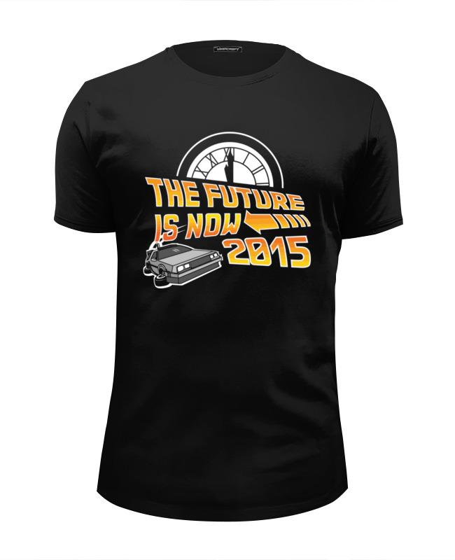 Printio Будущее сейчас 2015 (назад в будущее) путешествие часуке фильм 2015