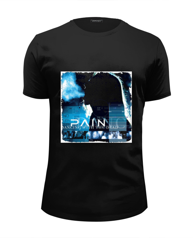 Футболка Wearcraft Premium Slim Fit Printio Pain (dancing with the dead) dancing at the chance