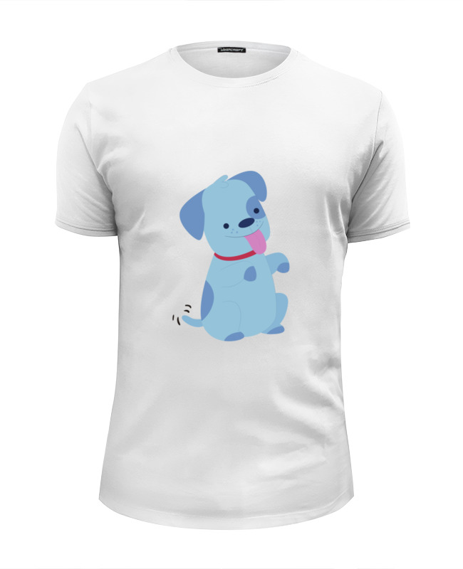 Футболка Wearcraft Premium Slim Fit Printio Смешная собачка футболка классическая printio смешная собачка