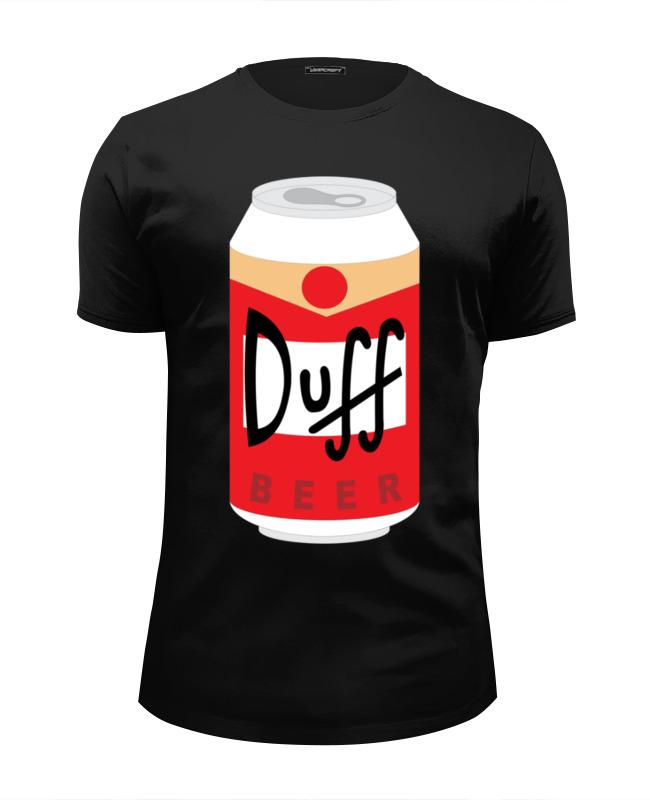 Футболка Wearcraft Premium Slim Fit Printio Пиво дафф (duff beer) сумка printio duff beer