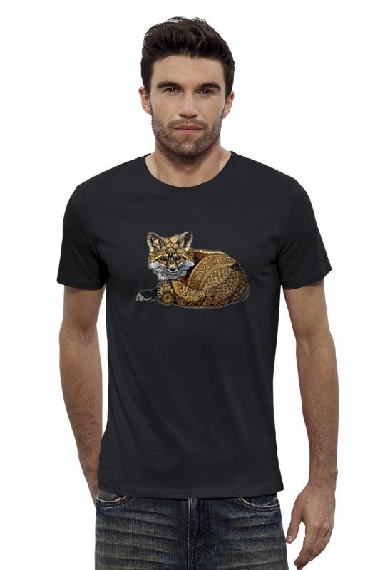 Футболка Wearcraft Premium Slim Fit Printio Лисица футболка wearcraft premium slim fit printio кит ричардс