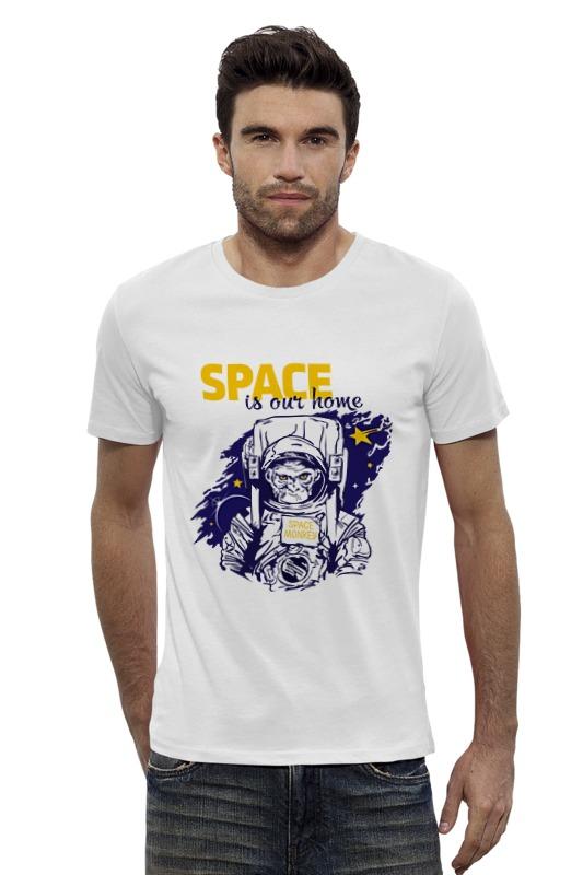 Футболка Wearcraft Premium Slim Fit Printio Space is our home футболка wearcraft premium slim fit printio space jam x jordan