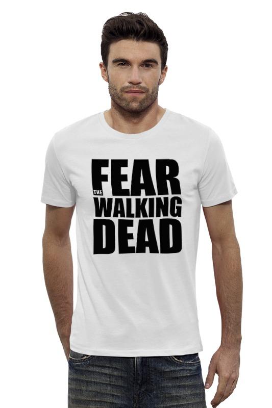 Футболка Wearcraft Premium Slim Fit Printio Fear the walking dead худи print bar the walking dead