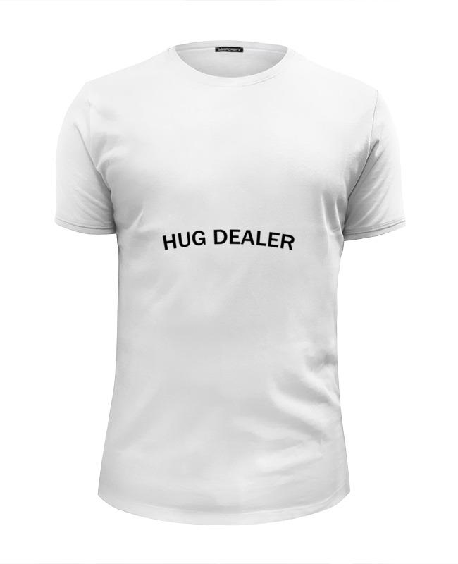 Футболка Wearcraft Premium Slim Fit Printio Hug dealer футболка wearcraft premium printio hug dealer обнимашки