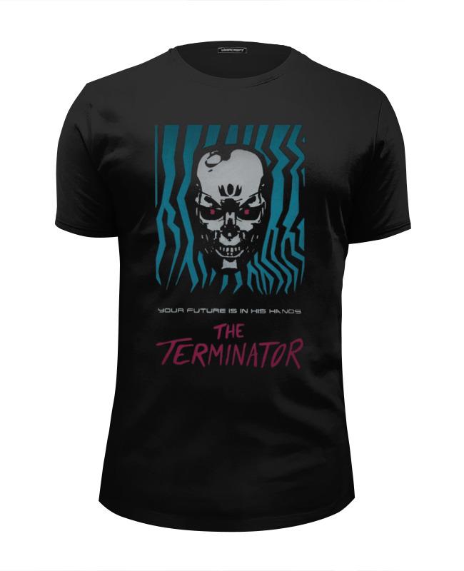 Футболка Wearcraft Premium Slim Fit Printio Terminator футболка wearcraft premium slim fit printio граната