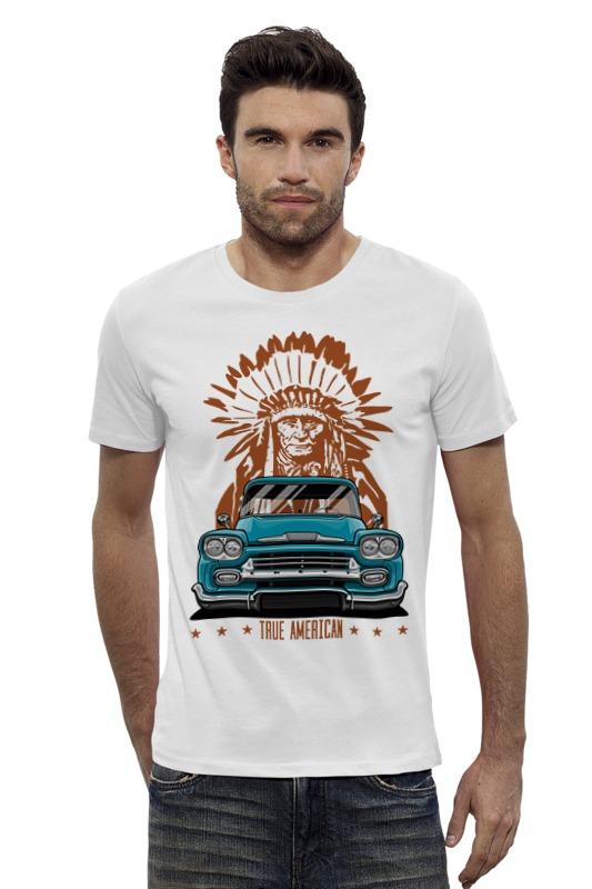 Футболка Wearcraft Premium Slim Fit Printio Chevy apache pickup truck футболка рингер printio chevy apache pickup truck