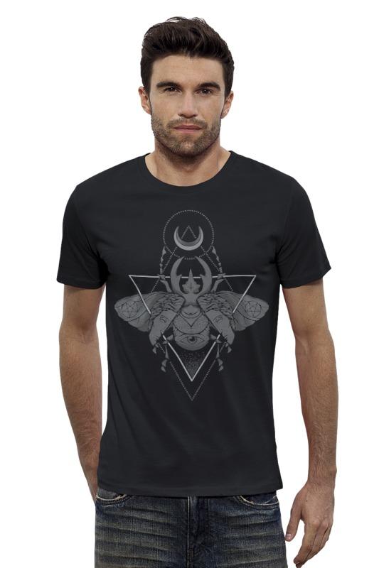 Футболка Wearcraft Premium Slim Fit Printio Оккультный жук футболка стрэйч printio вольскваген жук