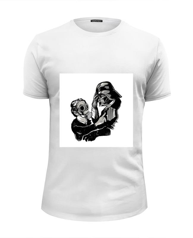 Футболка Wearcraft Premium Slim Fit Printio Darth vader и слон футболка wearcraft premium slim fit printio darth vader и слон