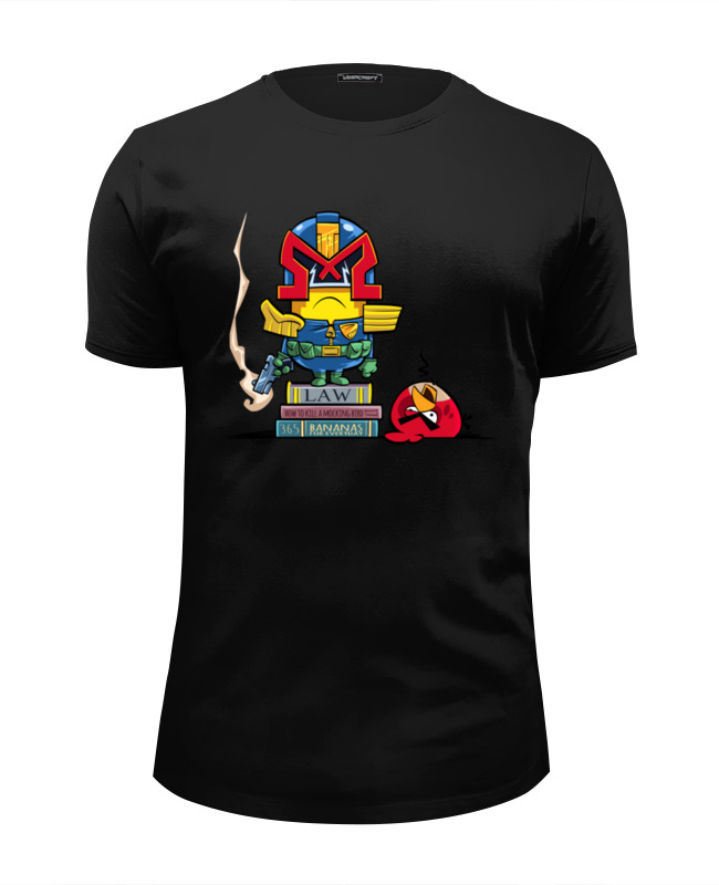 Футболка Wearcraft Premium Slim Fit Printio Миньон дредд футболка wearcraft premium slim fit printio миньон кунг фьюри