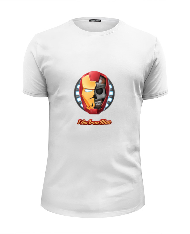 Футболка Wearcraft Premium Slim Fit Printio Я железный человек футболка wearcraft premium slim fit printio spider man