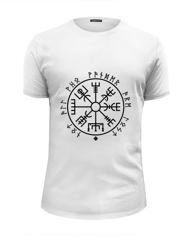 Футболка Wearcraft Premium Slim Fit Printio Руна викингов футболка print bar руна любви