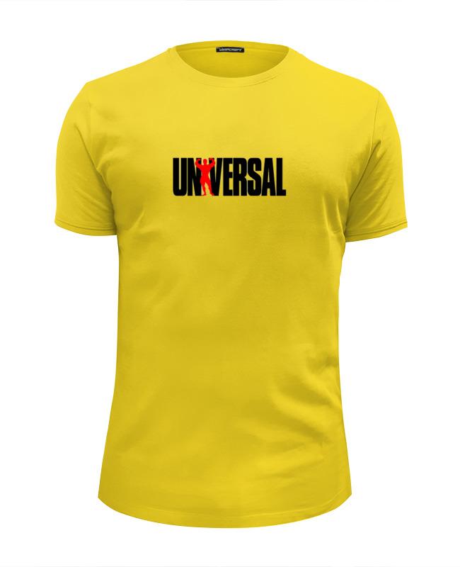 Футболка Wearcraft Premium Slim Fit Printio Universal nutrition футболка классическая printio universal nutrition